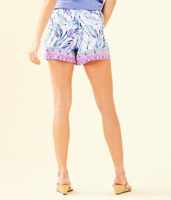 """5"""" Katia Short, Resort White Flock Together Engineered Shorts, large 1"""