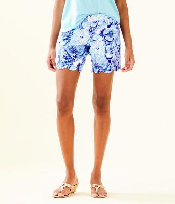 "7"" Darci Knit Short, Coastal Blue Catch N Keep Small, large 0"
