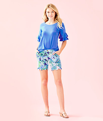 """7"""" Darci Knit Short, Multi Party Thyme, large 3"""