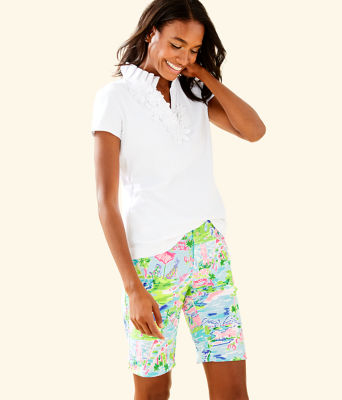 "10"" Bettina Golf Short - UPF 50+, Multi Honda Classic Toile, large"