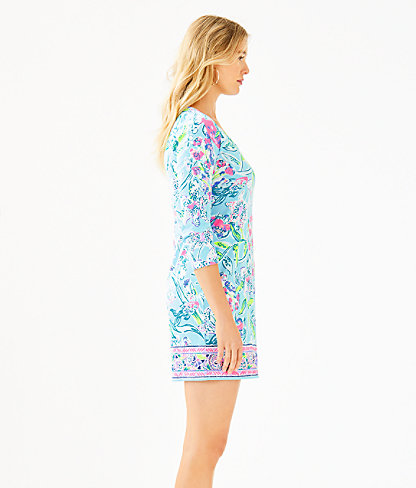 Beacon Dress, Bali Blue Sway This Way Engineered Knit Dress, large 2
