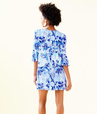 Ophelia Dress, Coastal Blue Catch N Keep, large 1