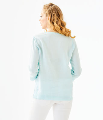 Amelia Island Tunic, Whisper Blue, large 1