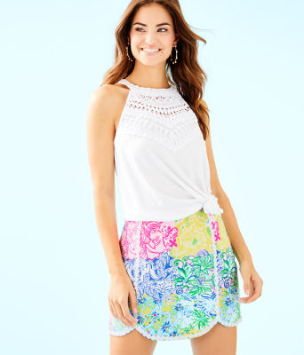 Patty Skort, Multi Cheek To Cheek, large