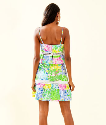 Jan Peplum Top And Skirt Set, Multi Cheek To Cheek, large 1