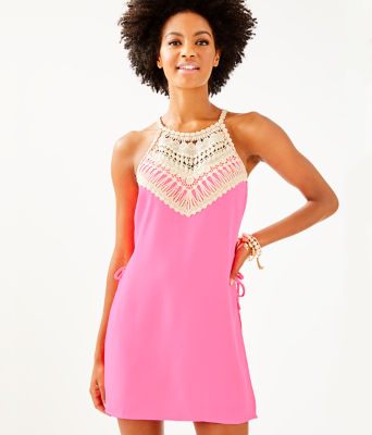 Pearl Romper, Pink Tropics, large 0