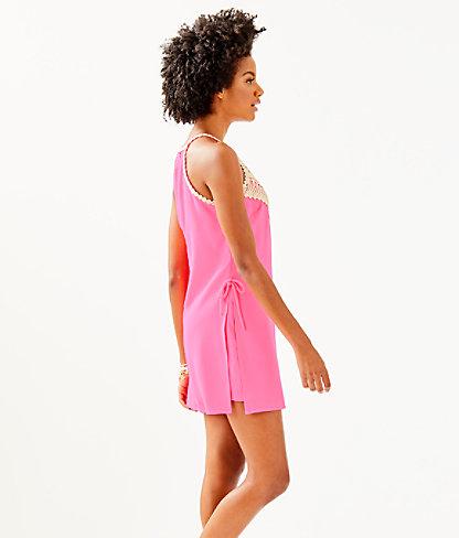 Pearl Romper, Pink Tropics, large 2