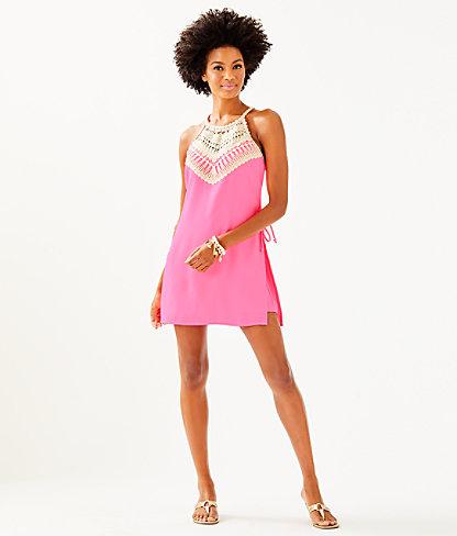 Pearl Romper, Pink Tropics, large 3