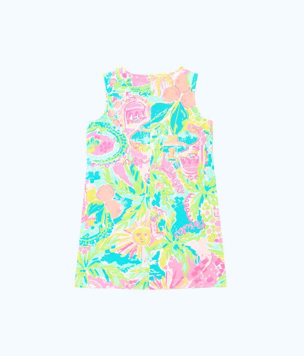 Girls Mini Harper Shift Dress, Multi Sunshine State Of Mind, large