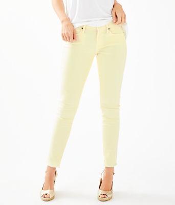 """29"""" South Ocean Skinny Jean, Lemon Wedge, large 0"""