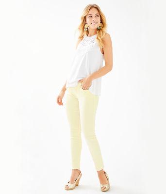 """29"""" South Ocean Skinny Jean, Lemon Wedge, large"""