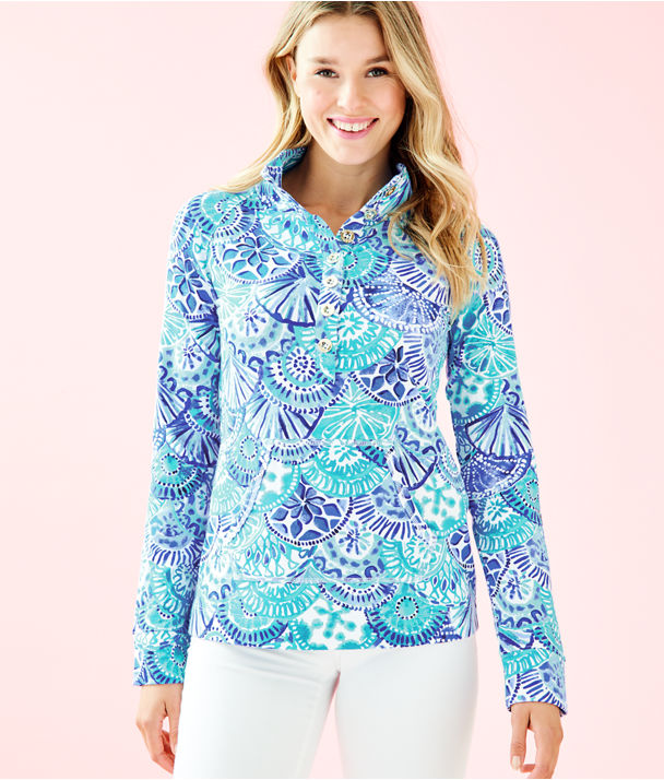 UPF 50+ Captain Popover, Turquoise Oasis Half Shell, large
