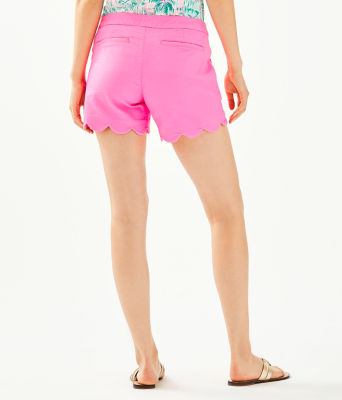 "5"" Buttercup Stretch Short, Pink Tropics, large"