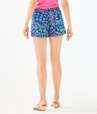 """5"""" Ocean View Short, Inky Navy Glow And Flow, large 1"""