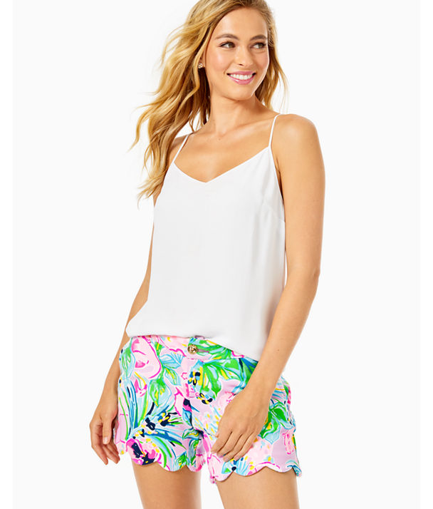 Dusk Racerback Top, Resort White, large