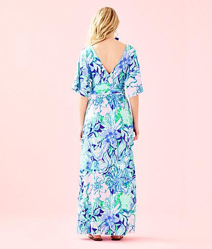 Parigi Maxi Dress, Multi Party Thyme, large 1