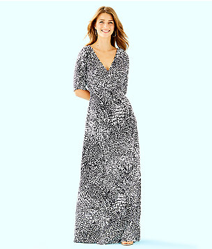 Parigi Maxi Dress, Onyx Home Slice, large
