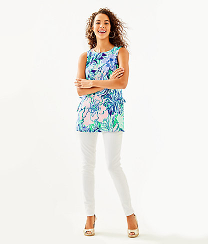 Donna Tunic Top, Multi Party Thyme, large 2