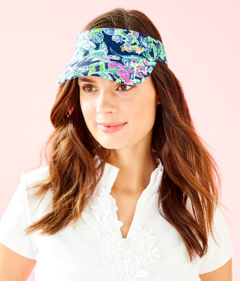 Its A Match Visor, Bright Navy Sway This Way Accessories Small, large 0