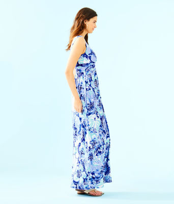 Sloane Dress, Coastal Blue Catch N Keep, large 2