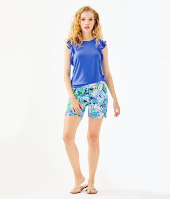 Lanette Top, Coastal Blue, large