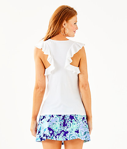 Lanette Top, Resort White, large 1