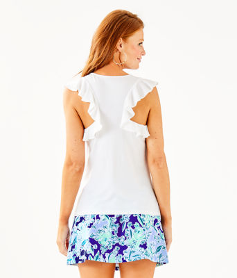 Lanette Top, Resort White, large