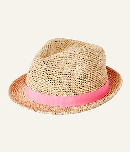 Poolside Raffia Hat, Natural, large 2