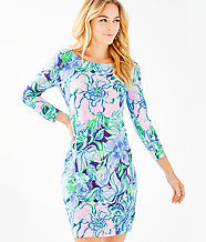 UPF 50+ Sophie Dress, Multi Party Thyme, large