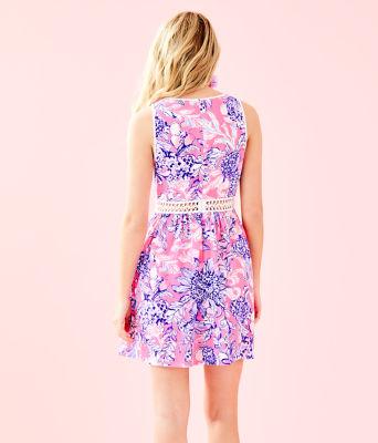 Alivia Dress, Pink Tropics Sun Drenched, large