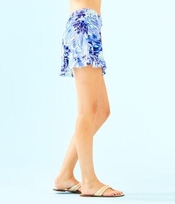 Luxletic Meryl Nylon Azelie Skort, Coastal Blue Catch N Keep, large