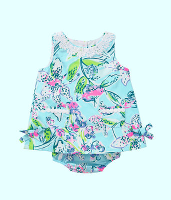 Baby Lilly Shift, Bali Blue Sway This Way, large 0