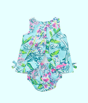Baby Lilly Shift, Bali Blue Sway This Way, large 2