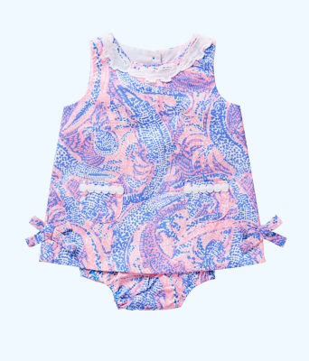 Baby Lilly Shift, Coastal Blue Maybe Gator, large 0