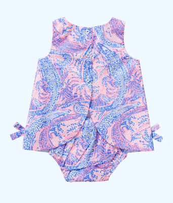 Baby Lilly Shift, Coastal Blue Maybe Gator, large 1