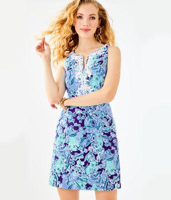 Gabby Shift Dress, Royal Purple Koalafications, large 0