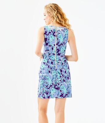 Gabby Shift Dress, Royal Purple Koalafications, large 1