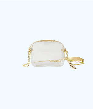 Clear Crossbody Bag, Clear, large