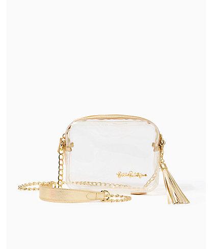 Clear Crossbody Bag, Clear, large