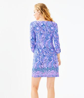 UPF 50+ Sophie Dress, Purple Iris Hello Sunshine Engineered Sophie, large