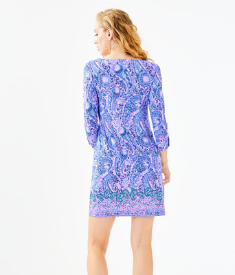 UPF 50+ Sophie Dress, Purple Iris Hello Sunshine Engineered Sophie, large 1