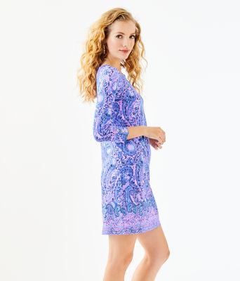 UPF 50+ Sophie Dress, Purple Iris Hello Sunshine Engineered Sophie, large 2
