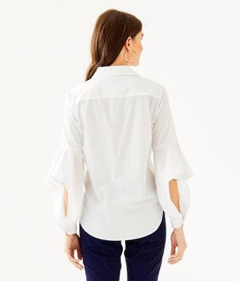 Natalia Shirt, Resort White, large 1