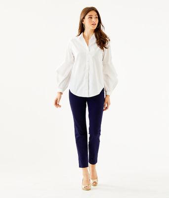 Natalia Shirt, Resort White, large 2