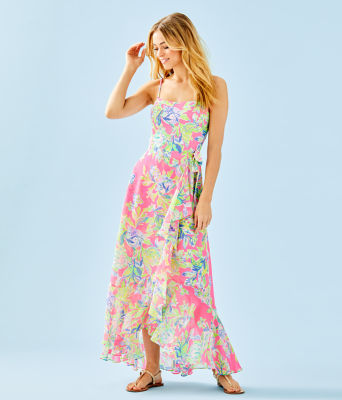 Anni Maxi Dress, Multi Squeeze The Day, large
