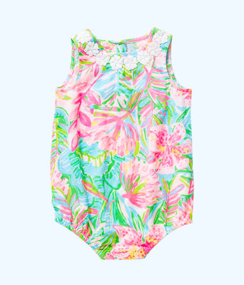 Girls May Bodysuit, Multi Pop Up Lilly Of The Jungle, large 0