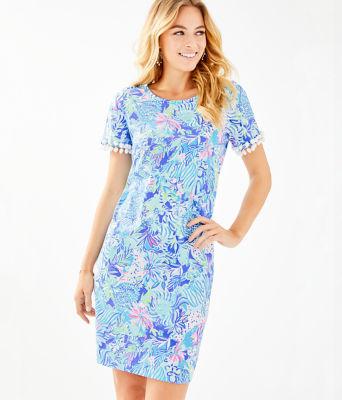 Lissie Dress, Coastal Blue Lion Around, large 0
