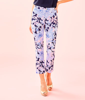 """27 1/2"""" Kelly High Rise Crop Flare Pant, , large"""