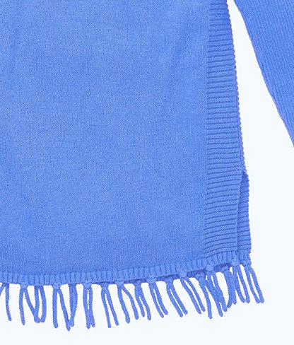 Girls Mini Ramona Sweater, Coastal Blue, large 2