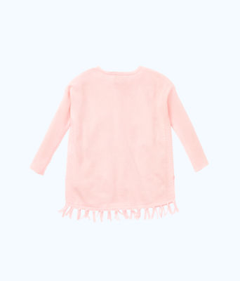 Girls Mini Ramona Sweater, Paradise Pink, large 1